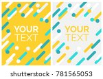 minimalistic design  creative... | Shutterstock .eps vector #781565053