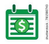 dollar sign money icon | Shutterstock .eps vector #781580743