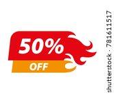 sale off good price flat | Shutterstock .eps vector #781611517
