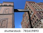 facade of the famous guiness... | Shutterstock . vector #781619893