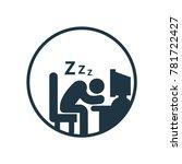 tired overworked businessman...
