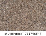 background with sea sand | Shutterstock . vector #781746547