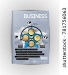 business infographic layout | Shutterstock .eps vector #781756063