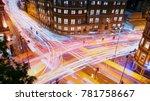 london  circa 2017   long... | Shutterstock . vector #781758667