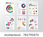 modern business presentation... | Shutterstock . vector #781794373