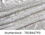 silver sequins textile...   Shutterstock . vector #781866793