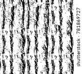 abstract black and white... | Shutterstock . vector #781869727