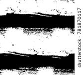 abstract black and white... | Shutterstock . vector #781870117