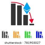 ethereum falling acceleration... | Shutterstock .eps vector #781903027