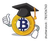 graduation bitcoin gold... | Shutterstock .eps vector #781926763