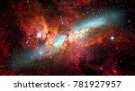 Nebula And Galaxies In Deep...