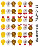 ranking medal icon illustration ...