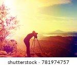 abstract effect. nature... | Shutterstock . vector #781974757