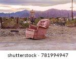 Old Armchair In Salton City ...