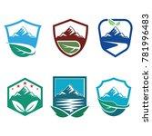 fresh nature mountain logo... | Shutterstock .eps vector #781996483