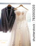 blur   wedding dress and a... | Shutterstock . vector #782003203