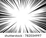 speed line fast motion...   Shutterstock .eps vector #782034997