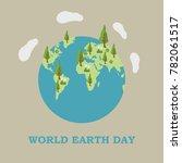 world earth day illustration | Shutterstock .eps vector #782061517