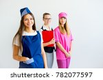 people of different professions | Shutterstock . vector #782077597