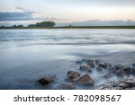 beautiful morning landscapes at ... | Shutterstock . vector #782098567