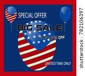 big sale vector banner | Shutterstock .eps vector #782106397