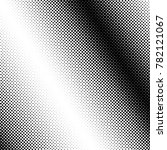 black dots on a white halftone... | Shutterstock . vector #782121067