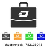 dash accounting case icon....   Shutterstock .eps vector #782139043