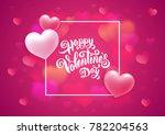 greeting card design for... | Shutterstock .eps vector #782204563