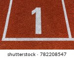 starting number seven on a... | Shutterstock . vector #782208547