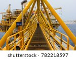 oil and gas central processing...   Shutterstock . vector #782218597
