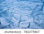 Ice Rink Surface Abstract...