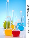 simple chemistry  laboratory... | Shutterstock . vector #78228751