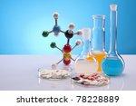 chemistry equipment | Shutterstock . vector #78228889