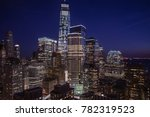 evening image of downtown new... | Shutterstock . vector #782319523