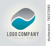 pd letter logo concept.... | Shutterstock .eps vector #782372083