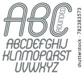 set of disco upper case english ... | Shutterstock . vector #782383573
