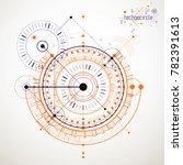 mechanical scheme  engineering... | Shutterstock . vector #782391613