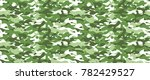 camouflage background. seamless ... | Shutterstock .eps vector #782429527
