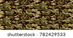 camouflage background. seamless ... | Shutterstock .eps vector #782429533