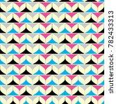 geometric background. seamless... | Shutterstock .eps vector #782433313