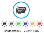graphic accelerator cards... | Shutterstock .eps vector #782444107