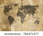 old map background | Shutterstock . vector #782471377