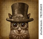 steampunk and steam punk grunge ...   Shutterstock . vector #782518603
