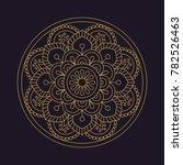 mandala flower beautiful vector ...   Shutterstock .eps vector #782526463