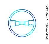optic fiber cables vector... | Shutterstock .eps vector #782549323