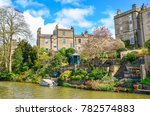 historic houses and beautiful... | Shutterstock . vector #782574883