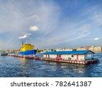 icebreaker diesel near the pier ... | Shutterstock . vector #782641387