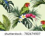 beautiful seamless vector... | Shutterstock .eps vector #782674507