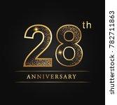 anniversary aniversary  twenty... | Shutterstock .eps vector #782711863