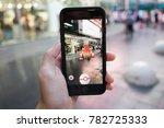 bangkok  thailand   december 16 ... | Shutterstock . vector #782725333